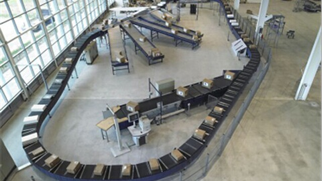 采用RFID技术在机场行李自动分拣系统中的应用