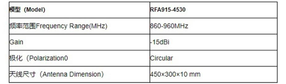 圆极化RFID天线
