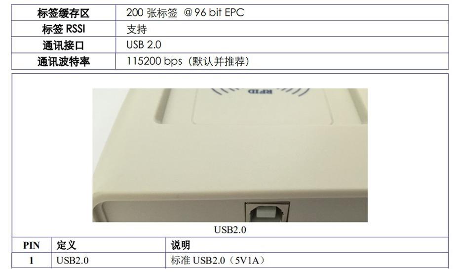 RFID 桌面式发卡器