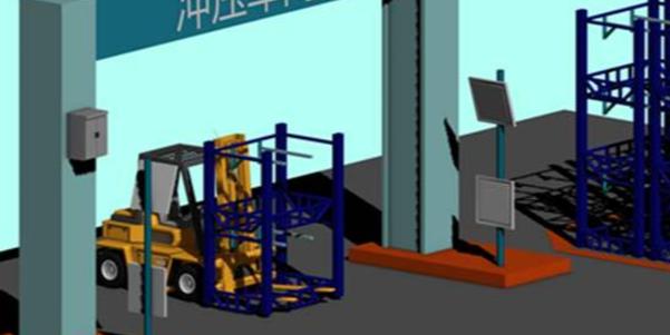 RFID 叉车仓储