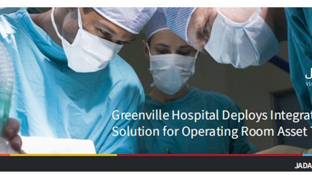 RFID技术在格林维尔医院手术室中的资产跟踪部署解决方案