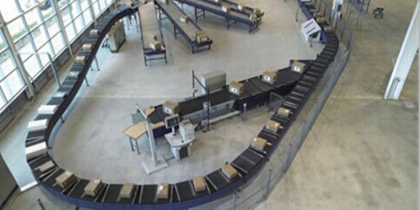 RFID行李分拣