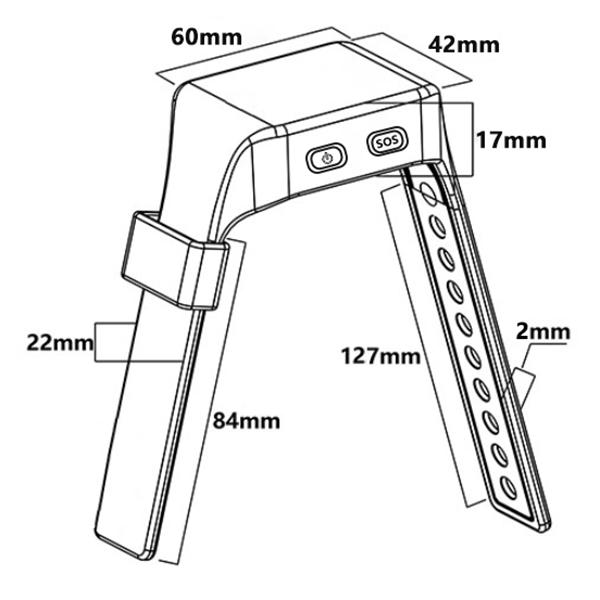 UWB腕表定位标签