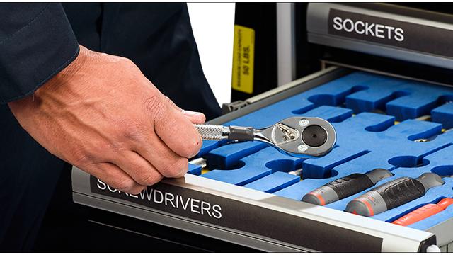 RFID工具柜,RFID工具管理
